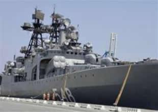 Rus savaş gemileri Limasol'a demirledi
