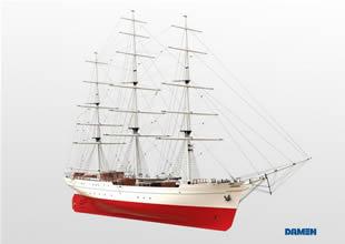 Umman'a 58 kişilik yelkenli talim gemisi