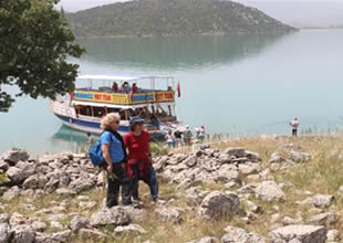 Doğa tutkunları Beyşehir adalarını keşfetti