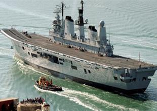 İngiliz uçak gemisi Aliağa'da sökülecek