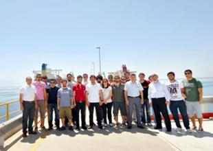 Öğrencilerden Ceyhan Terminali'ne ziyaret