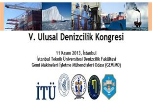 V. Ulusal Denizcilik Kongresi yapılıyor