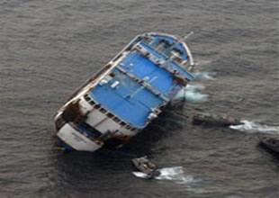 Çin'de nehir gemisi battı 6 ölü 18 yaralı