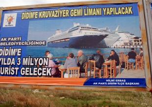 Didim'de kruvaziyer limanı için yer aranıyor