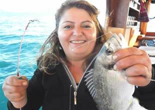 Amatör balıkçıların tercihi Elif Kaptan
