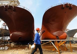 Çin gemi inşa sanayinde düşüş yaşanıyor
