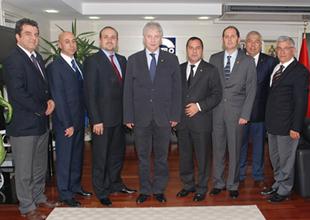 DTO İzmir Şubesi, EBSO'yu ziyaret etti