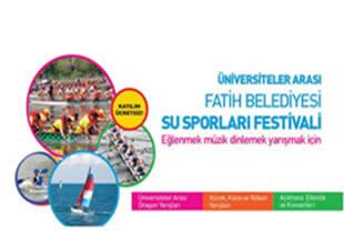 Su Sporları Festivali bugün başlıyor