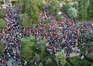 Taksim'de olaylar yeniden başladı