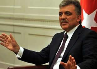 Abdullah Gül'den 'Gezi Parkı' açıklaması