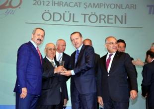 İÇDAŞ yine ihracat şampiyonu oldu