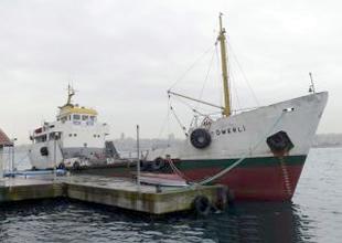 TDİ A.Ş'ye ait Ömerli su tankeri satıldı