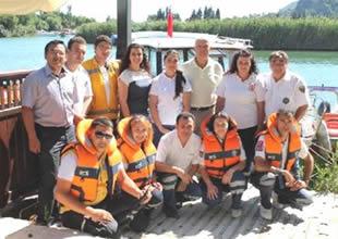 Muğla Dalyan Kanalı'na ambulans bot