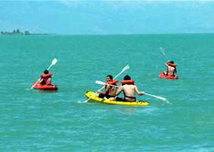 Beyşehir'de su sporları ivme kazanıyor