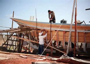 Gazzeli tekne ustasının  inanılmaz öyküsü