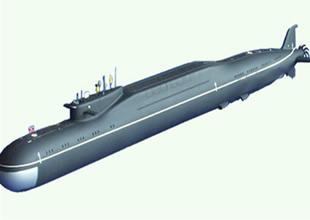 Rusya'da yeni tip denizaltı deneniyor