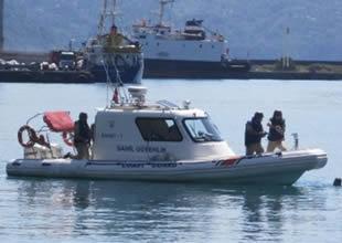 Hopa Limanı'nda güvenlik tatbikatı