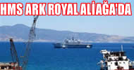 HMS Ark Royal, söküm için Aliağa'da