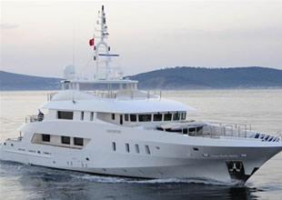 Lüks yat 8.5 milyon Euro'ya icradan satılıyor