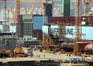 Dünyanın en büyük gemisi Trible-E gemisi