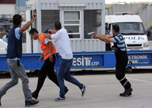 Kepez Limanı'nda terör tatbikatı yapıldı