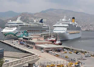 Costa Cruise rotasını yine İzmir'e çevirdi