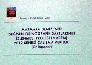 Marmara Denizi Araştırmaları kitap oldu