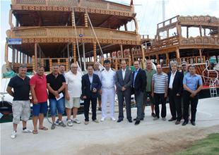 DTO İzmir'in Ayvalık ve Dikili ziyareti