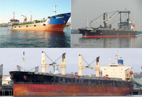 Ahırkapı demir bölgesinde gemi kazası