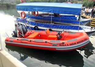 İlk zodyat bot ambulansımız hizmette