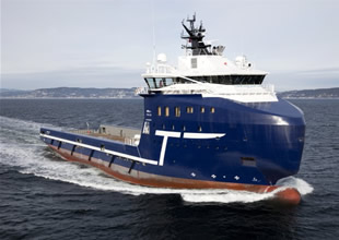 Troms Offshore, yeni PSV'sini teslim aldı
