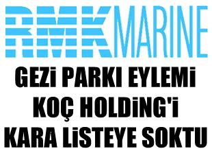 Gezi Parkı Eylemi, Koç Holding vuracak