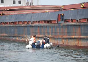 Ereğli'de gemi kurtarma tatbikatı yapıldı