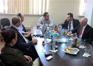 Gürcü Diplomat Hopaport'u ziyaret etti