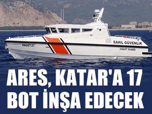 Ares, Katar'a 17 Sahil Güvenlik Botu inşa edecek