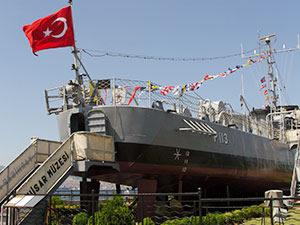 Yarhisar Müze Gemisi'ni 177 bin kişi ziyaret etti