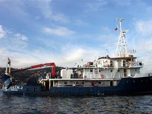 R/V Bilim 2 araştırma gemisi kendi limanına demir atacak
