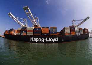 Hapag Lloyd'dan 10 limanlık yeni hat