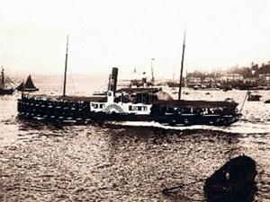 İstanbul Limanı'na ilk buharlı gemi 1828 yılında geldi