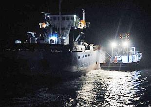 Türk karasularında geçen yıl 96 deniz kazası meydana geldi