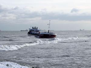 Samsun'da karaya oturan gemi halen kurtarılamadı