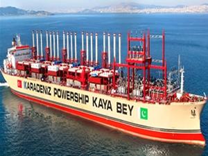 Karadeniz Holding'in enerji santrali gemileri hazır gibi!