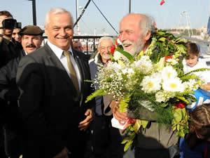 Dünyanın çevresini tekneyle dolaşan Erkan Gürsoy, Çanakkale'ye ulaştı