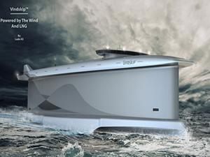 Rüzgar enerjisi ile çalışan gemi projesi: Vindskip