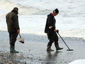 Fethiye define avcıları işbaşında