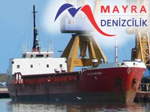 M/V GOLD isimli genel kargo gemisi, Mayra Denizcilik Şirketi'ne satıldı