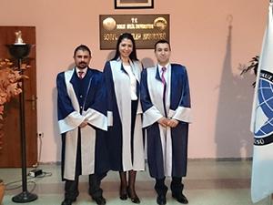 Dokuz Eylül Üniversitesi Denizcilik Fakültesi'nde 3 yeni doktor
