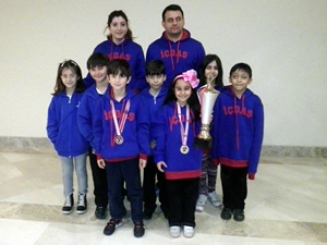 İÇDAŞ Spor Satranç Takımı Türkiye Şampiyonası'na damga vurdu
