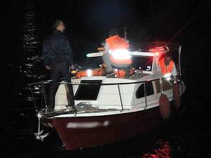 İzmir, Karaburun açıklarında kaçak taşıyan tekne alabora oldu: