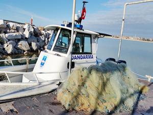 Beyşehir Gölü'nden bir yılda 40 kmlik ağ toplandı